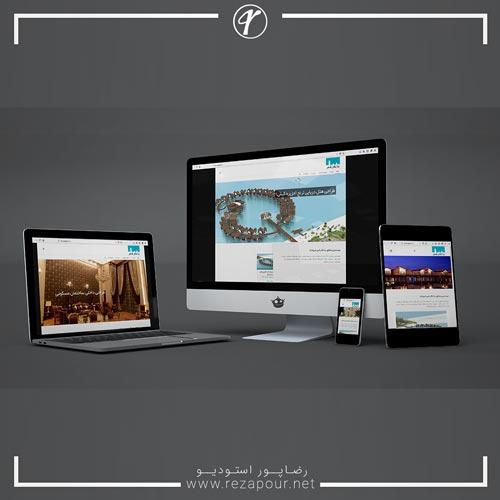 طراحی وبسایت شرکت ساختمانی