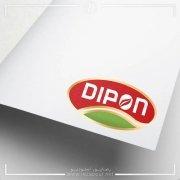 طراحی لوگو مواد غذای دیپون