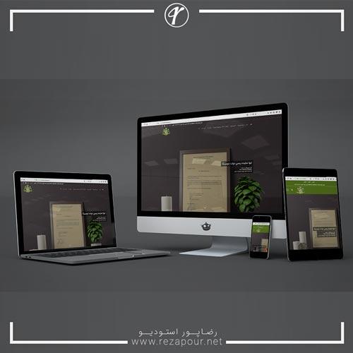 طراحی وبسایت اخذ پاسپورت ایران دومینیکا