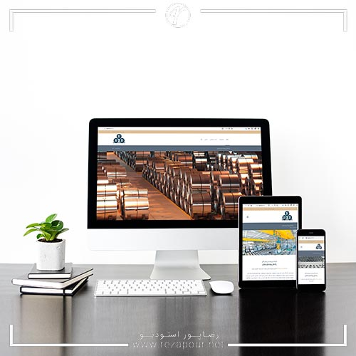 طراحی وبسایت شرکت فنی،مهندسی و بازرگانی رادمان پیشه پارسایان