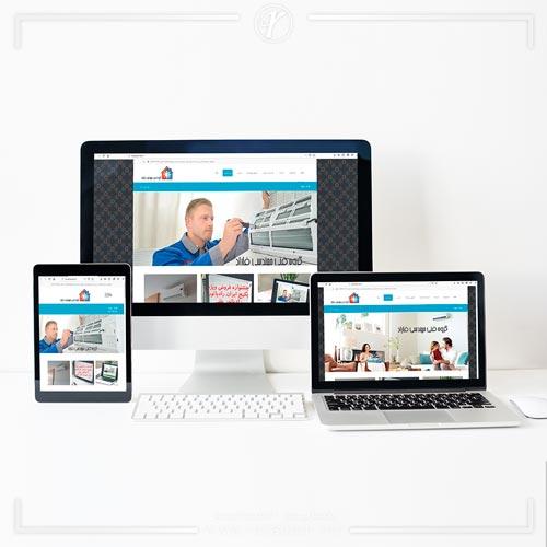 طراحی وبسایت فنی مهندسی فاراد
