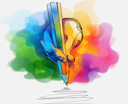 هارمونی رنگ ها در طراحی کاتالوگ